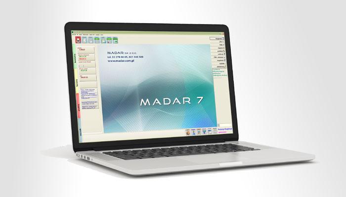 Moduły programu Madar7